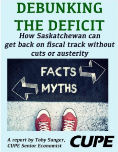 Debunking the Deficit poster